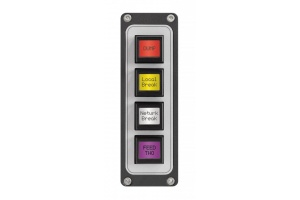 4-button LCD SmartSwitch Panel