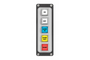 5-button Film-Cap Switch Panel